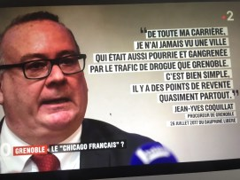 Le Procureur de la république Jean-Yves Coquillat a été repris par France 2