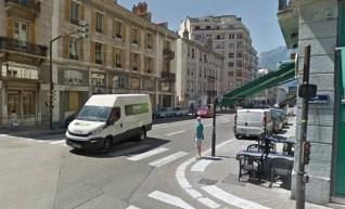 Feux piétons supprimés rue Lesdiguières