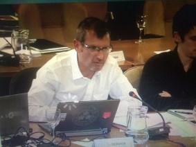 Pierre Mériaux, la voix de son maitre, inspecteur du travail champion de l'emploi précaire qui cautionne les licenciements absuifs et les emplois de complaisance du Maire