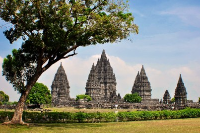 Arrivée à Prambanan