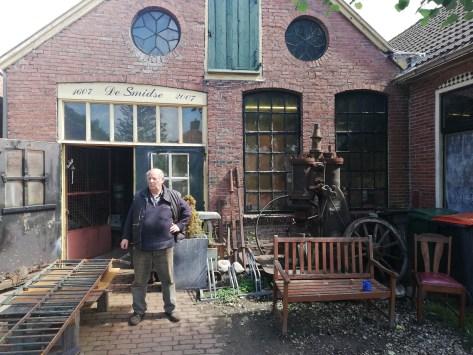 De oude smederij in Oudeschans
