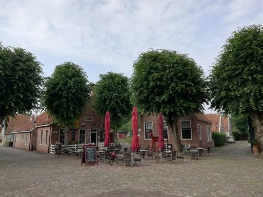 Het marktplein in Bourtange