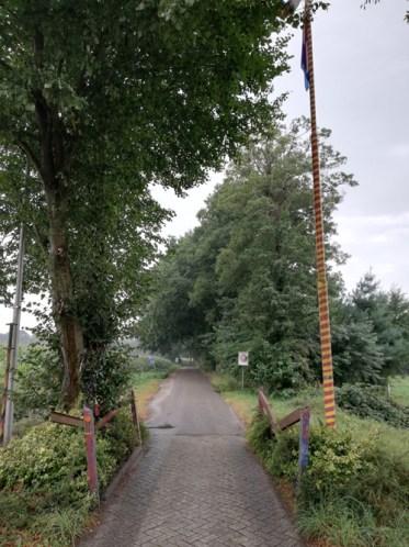 Grensovergang Langeveen, Schwarzer Weg