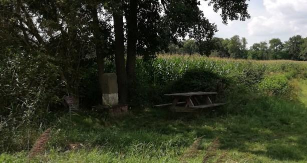 De Jurisdictiepaal op de grens tussen Overijssel, Gelderland en Duitsland