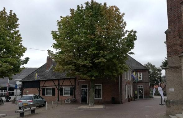 Het Grenslandmuseum in het centrum van Dinxperlo