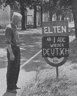 In 1963 wordt Elten weer Duits