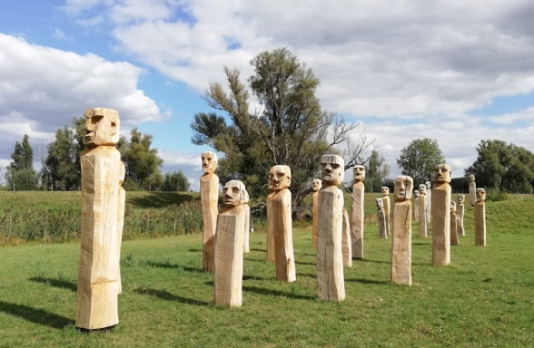 Kunstwerk ter herinnering aan de oorlog