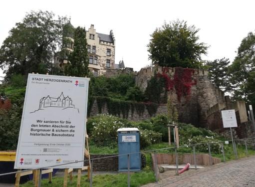Burg Rode wordt gerestaureerd in 2020
