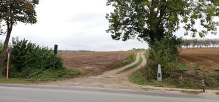 Grenspaal bij Vroenhoven