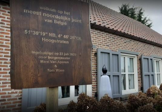 Het meest noordelijke punt van België