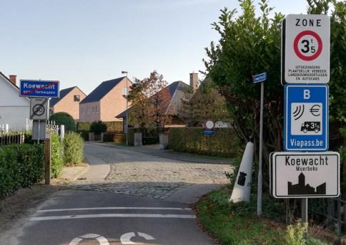 Grensstraat, Koewacht