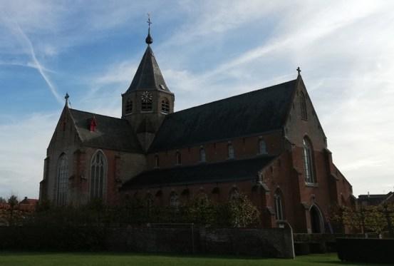 De Sint-Petrus en Pauluskerk in Middelbur