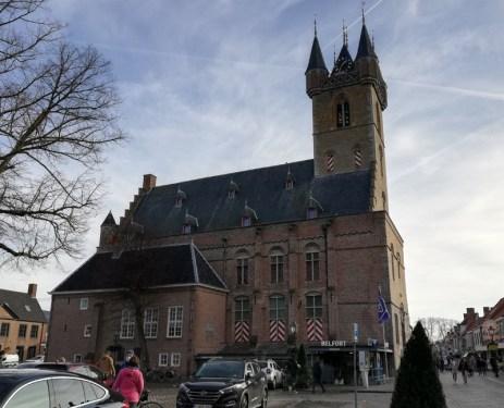 Het Belfort in Sluis