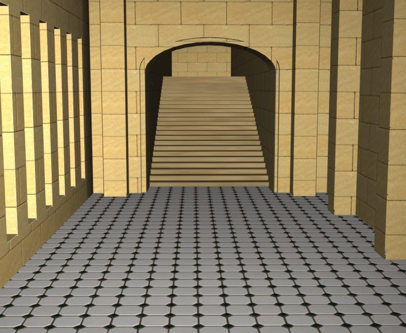 unfurnished corridor