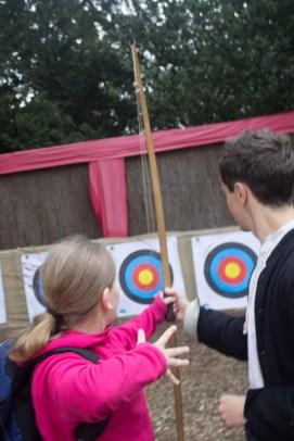 Warwick Castle archery