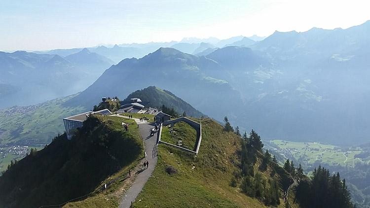 Ascending Mount Stanserhorn