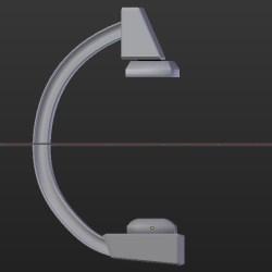 Textures for the C-arm model        #Blender #DAZStudio