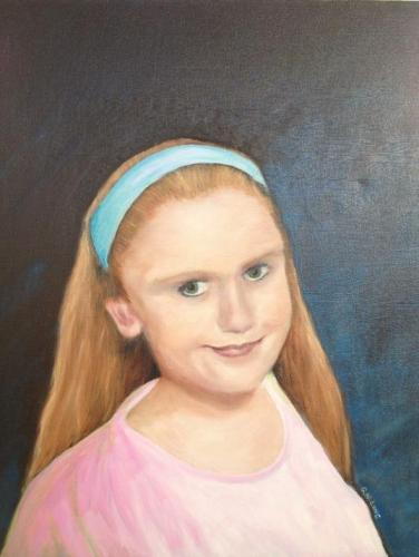 2012 - The time I painted a portrait of my daughter