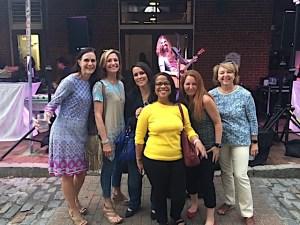 Noreen with Alliance of Women in Tech Leadership members