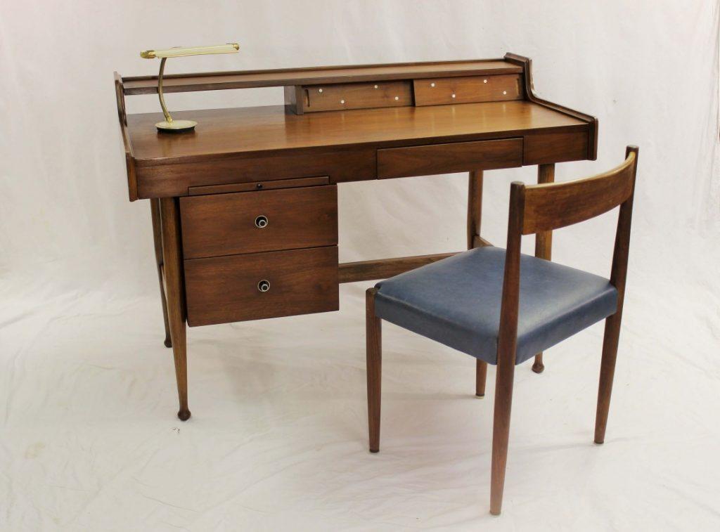 mid century modern desk mainline by hooker