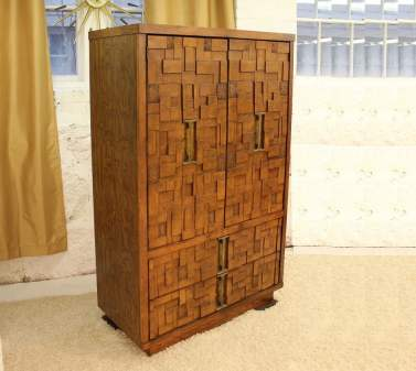 brutalist tall dresser featured