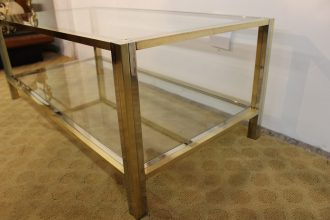 brass and chrome coffee table (17)