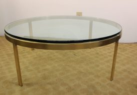 brass and glass coffee table (3)