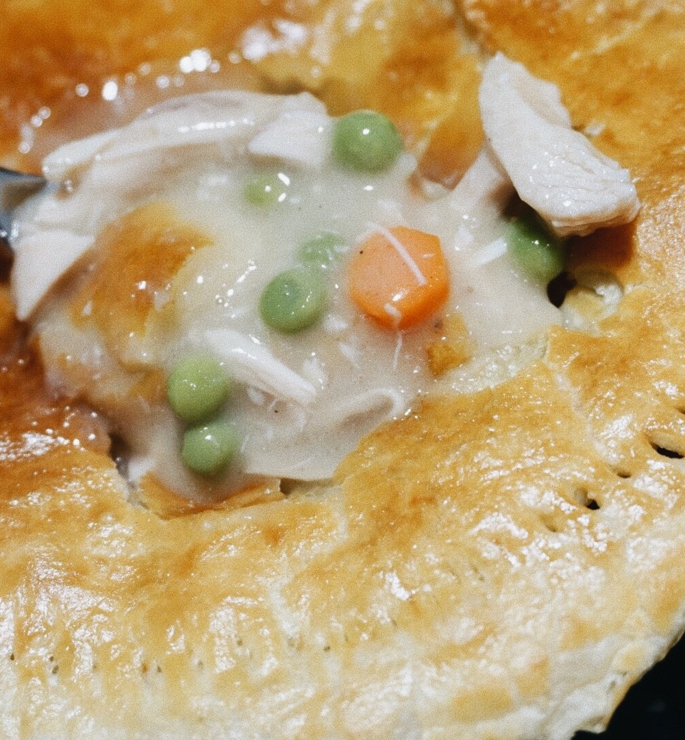Homemade Chicken Pot Pie!