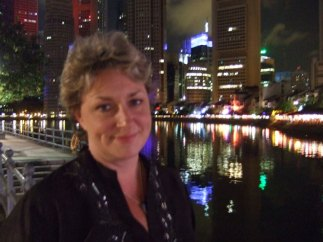 Greta Matassa in Singapore (January 2010 by Susan Pascal)