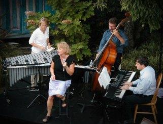 Greta Matassa, Susan Pascal, Chuck Deardorf, Randy Halberstadt teahouse concert