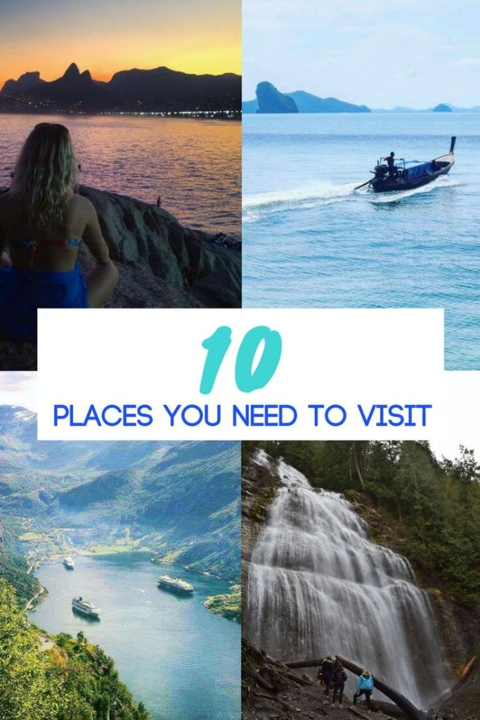 Planning a holiday but don't know where to go? Check out this list of 10 places you have to add to your bucket list! Time to start planning that next trip!