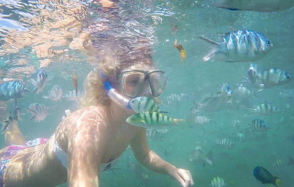 Snorkelling in Malindi Marine Park, Kenya, shot on GoPro Hero 4 Silver