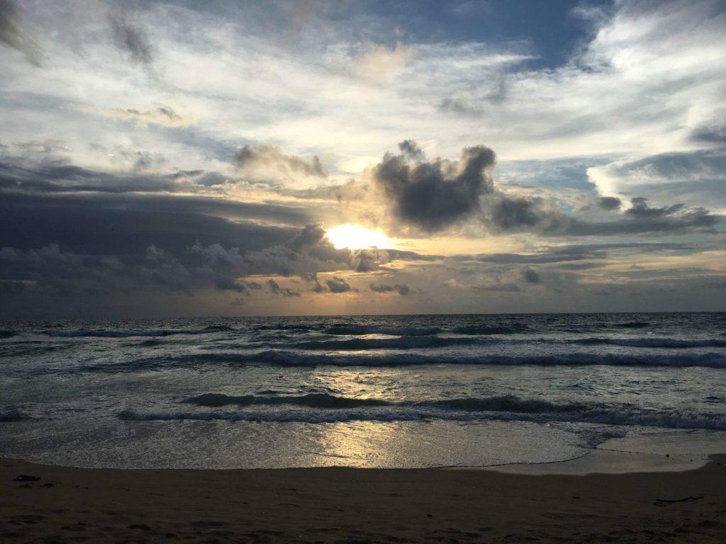 Sunset in Phuket, Thailand, shot on Nikon D3300