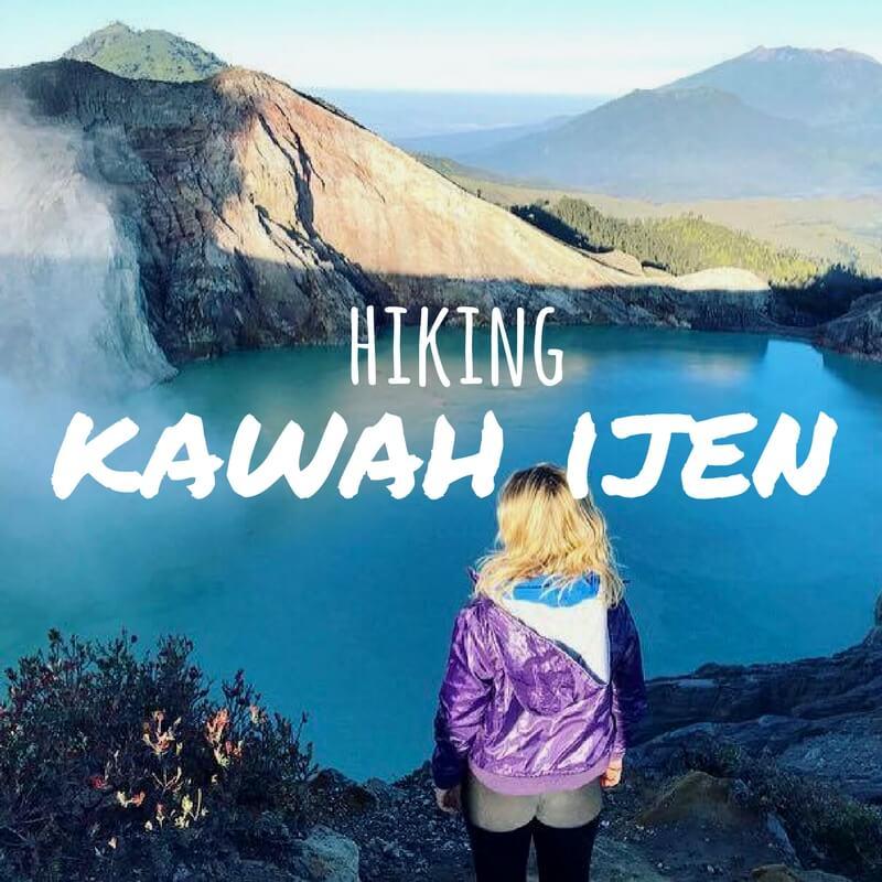 Hiking Kawah Ijen At Night: Blue Flames & Golden Sunrise