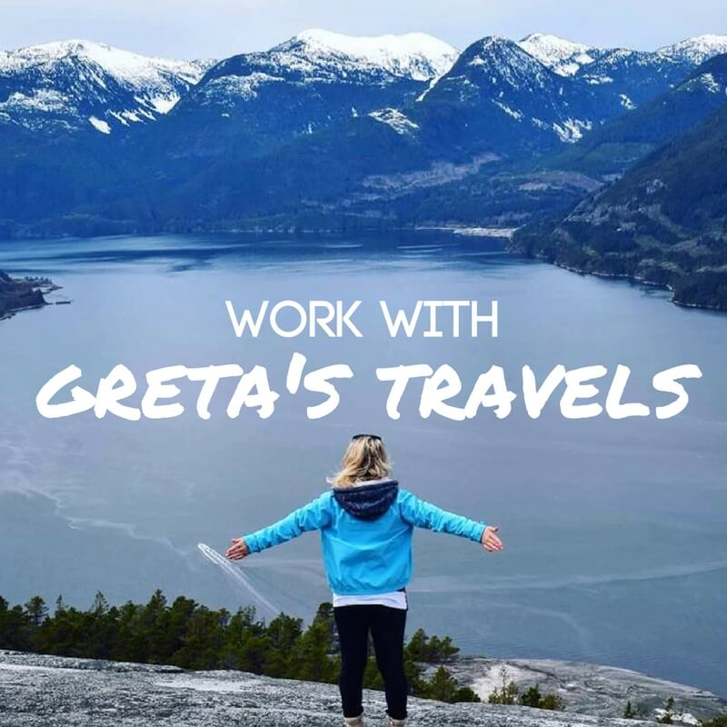 Work With Me: What Can Greta's Travels Do For You?