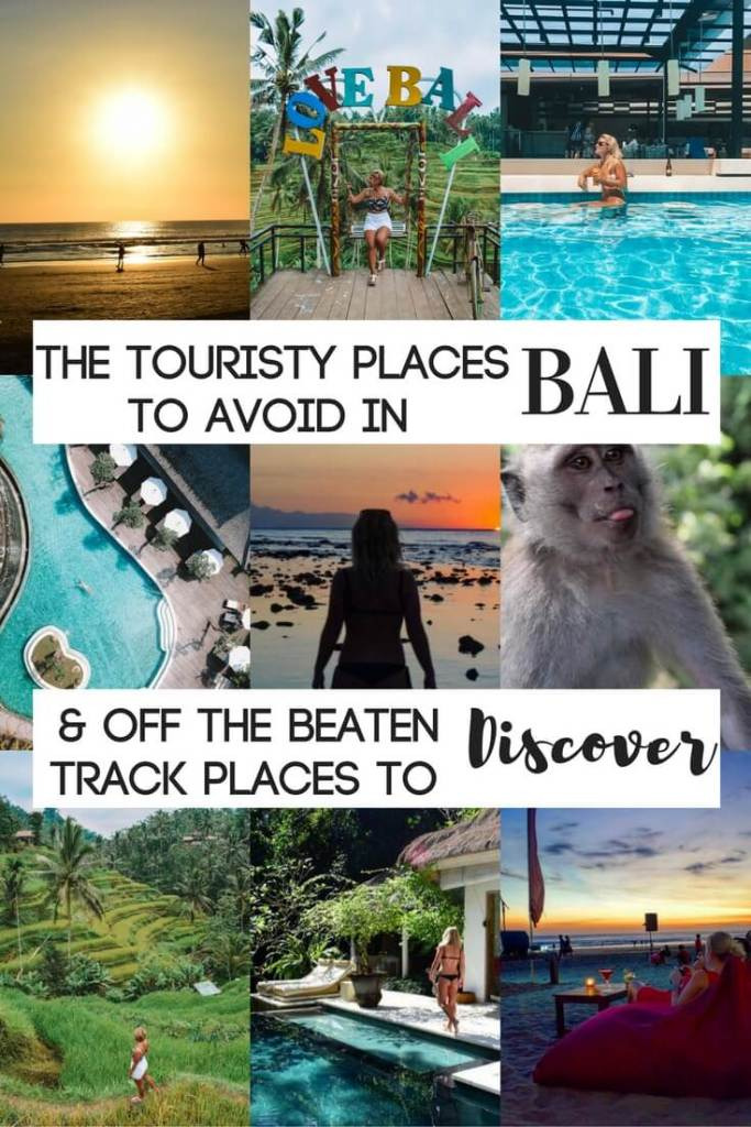 Planning a trip to Bali but don't know where to go? Find out all the touristy areas to avoid + the off the beaten track destinations yet to be discovered in this article!