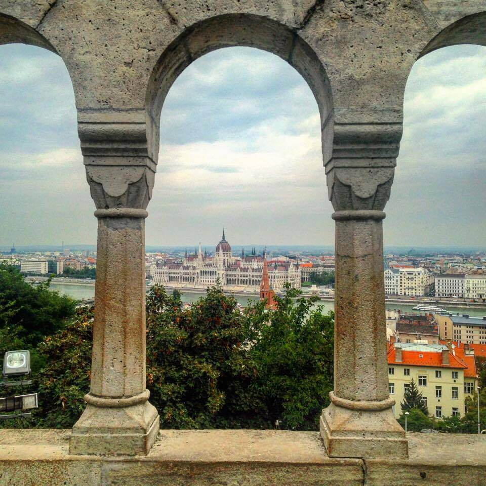 Views over Budapest, Hungary