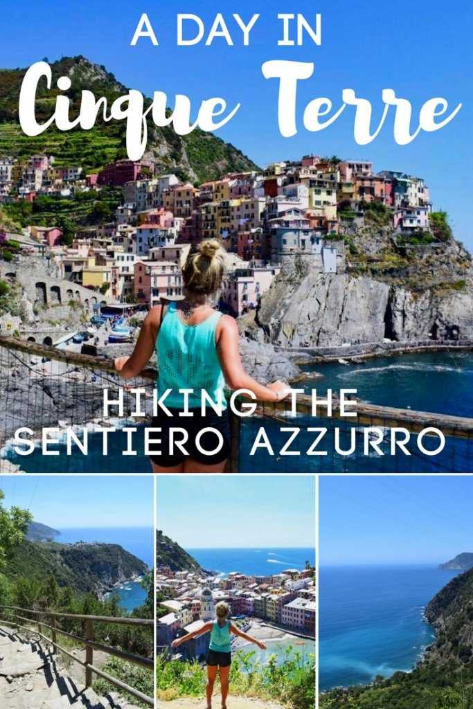 Cinque Terre is one of the most popular and beautiful destinations in Italy. In this post I'll tell you what it's like to hike the Sentiero Azzurro, a beautiful path that connects the five towns of Cinque Terre: Monterosso, Vernazza, Corniglia, Manarola and Riomaggiore. Be ready for breathtaking views over the sea and cute coloured houses perched on cliffs on the sea!