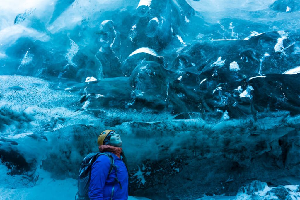 The Ice Caves, captured by Happiest Outdoors