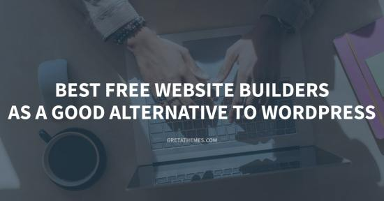 5 Best Free Website Builders as a Good Alternative to WordPress for Beginners