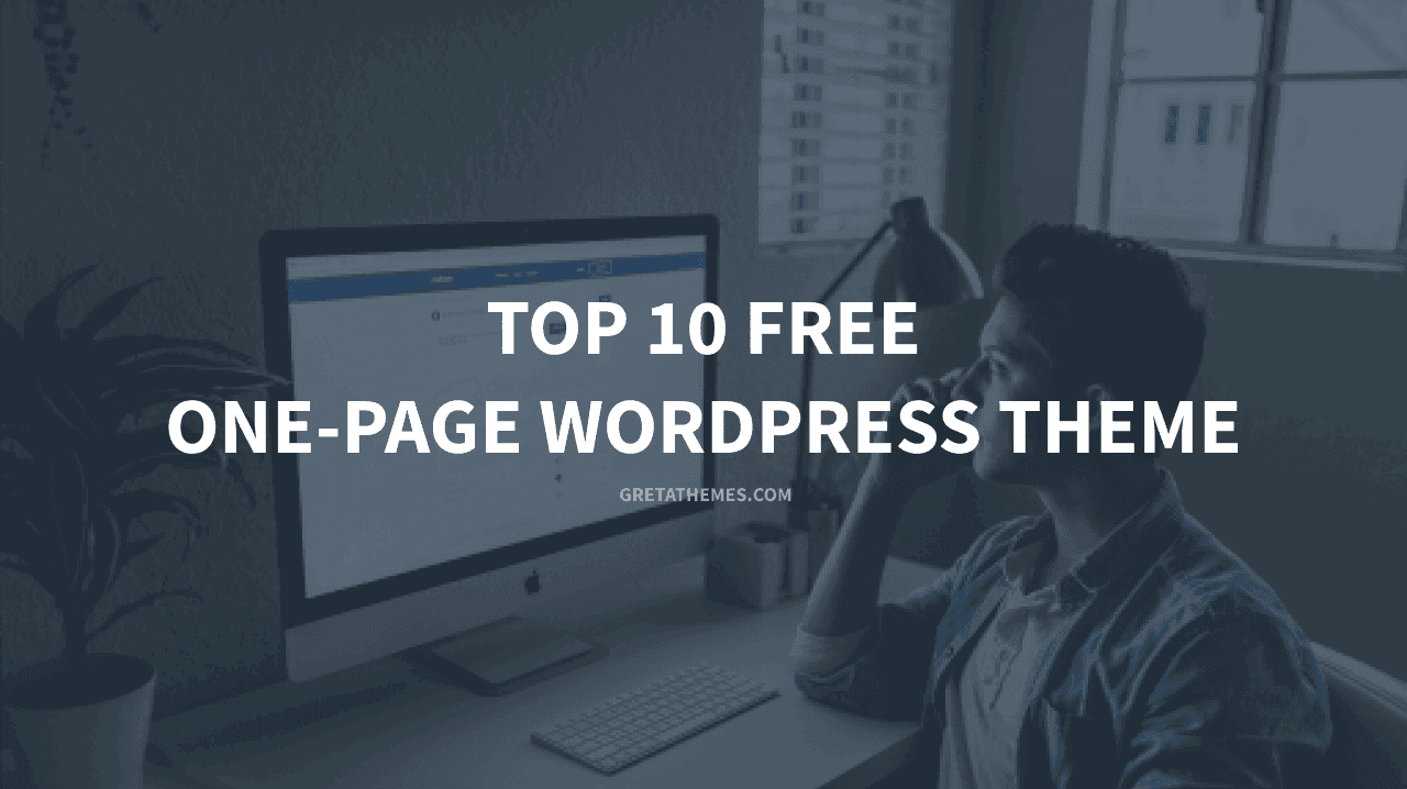 Top 10 free one-page wordpress theme