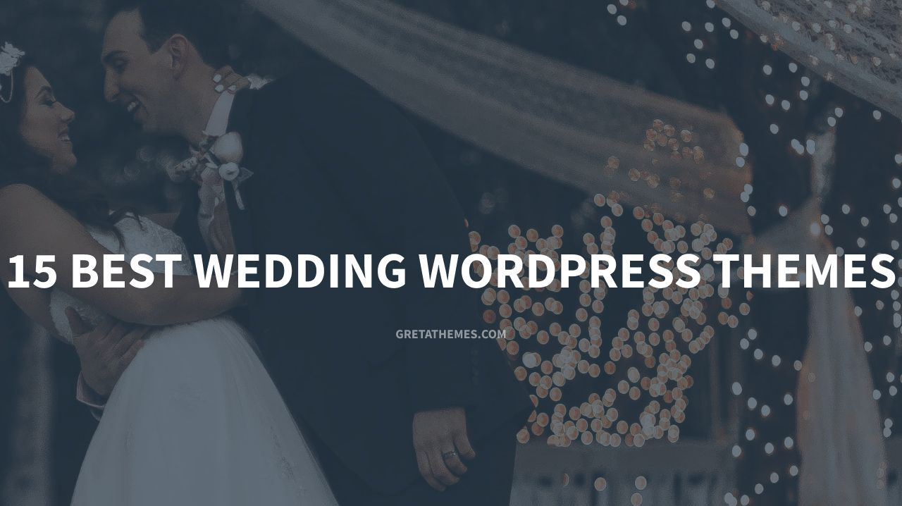 15 best wedding wordpress themes