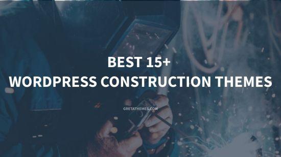 Best 15+ WordPress Construction Themes