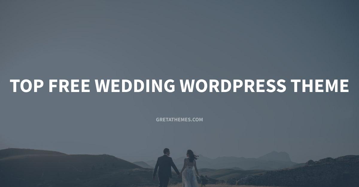 This list is top free wedding WordPress themes.