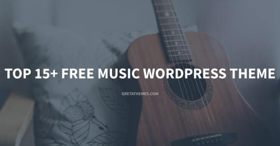 Top 15+ Free Music WordPress Theme