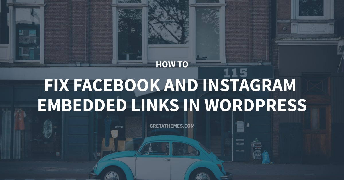 Fix facebook and instagram emebbed link in WP-min