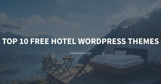 Top 10 Free Hotel WordPress Themes