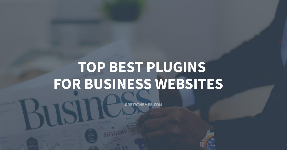 Top Best Plugins For Business Websites