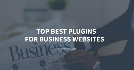 Top Best Plugins For Business Websites