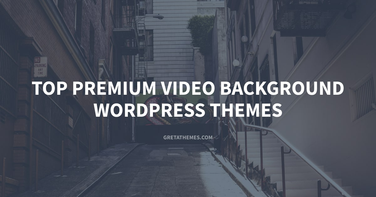 Top 13+ Premium Video Background WordPress Themes